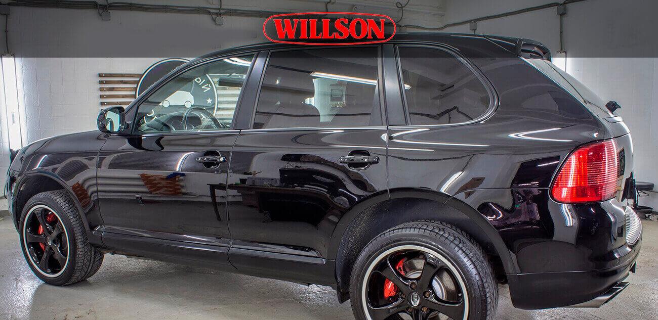 Полироль Willson Body Glass Guard для темных авто (110 мл+4,5 мл)