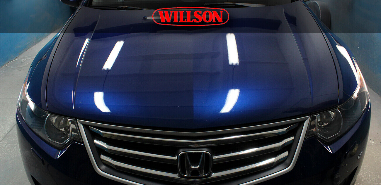 Полироль Willson Body Glass Guard для темных авто (140 мл+4.5 мл)
